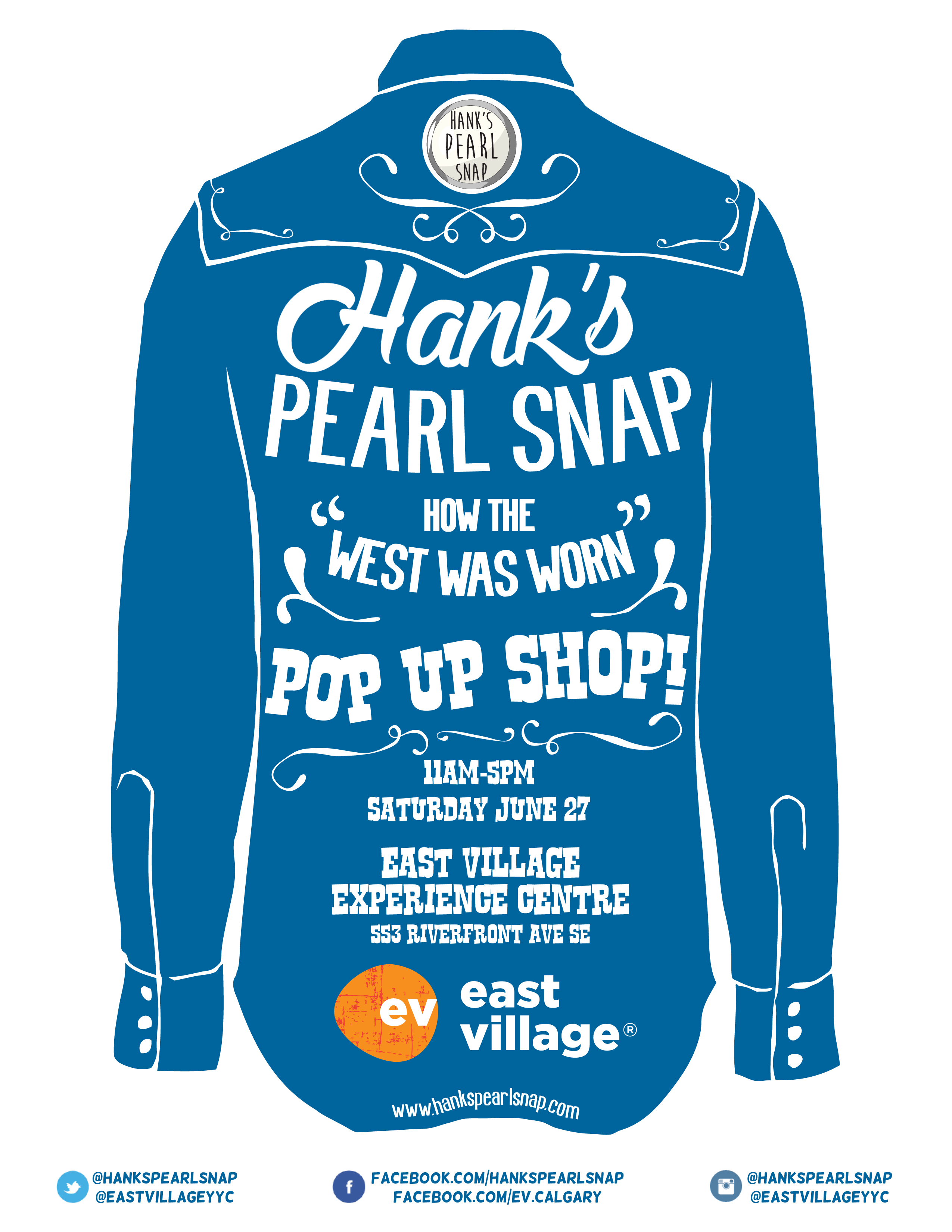 Hank's EV Poster