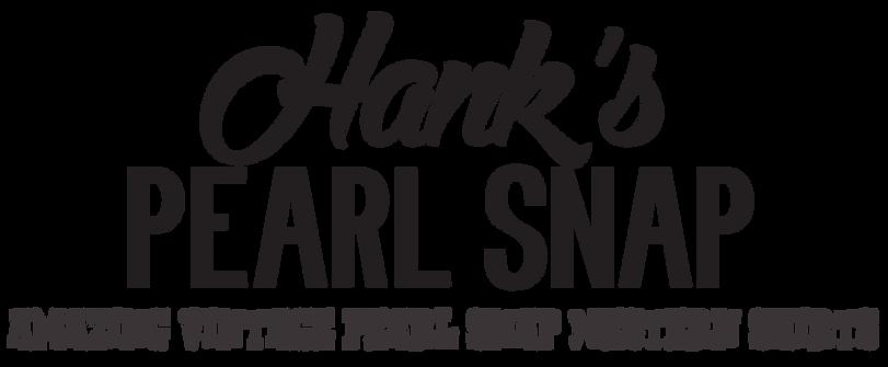 Hank's Pearl Snap - Calgary Western Vintage Shirts