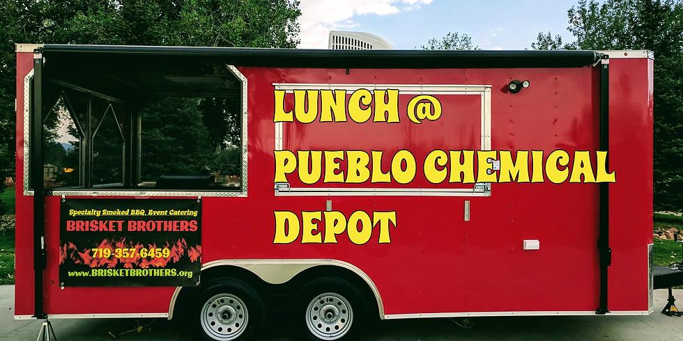 BBQ Lunch @ Pueblo Chemical Depot
