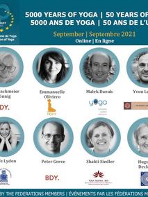Les événements de l'UEY : Célébration  1971 - 2021 ! 4 mois d'ateliers européens