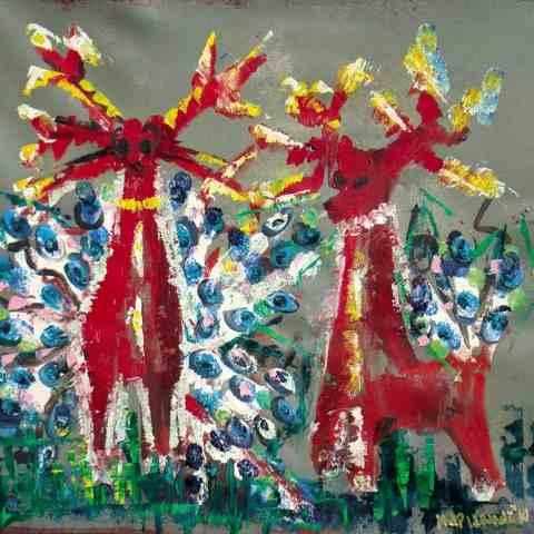 Marianna Katsoulidi, Deers, 2010