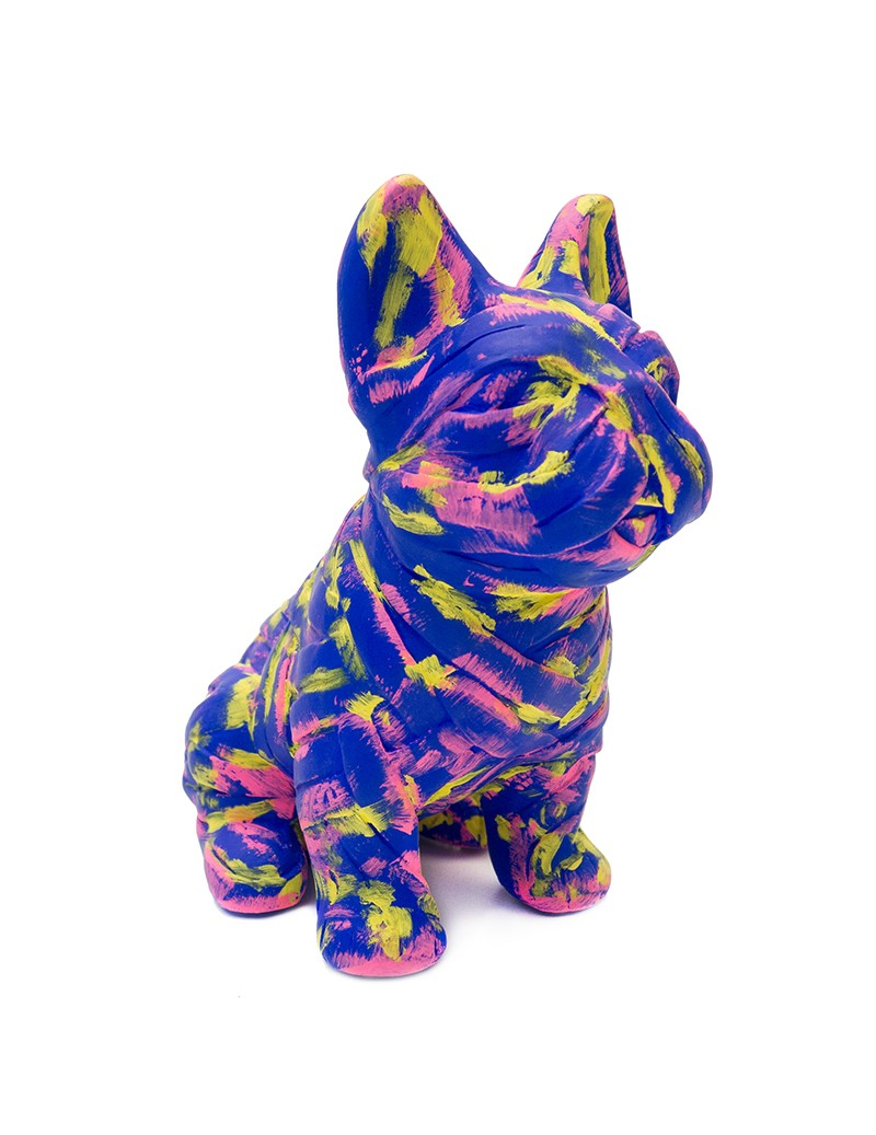 Colorful French Bulldog