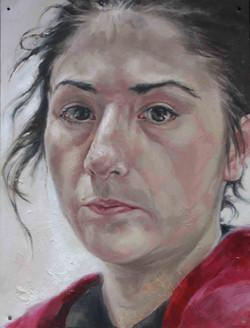 Self portrait, 2016