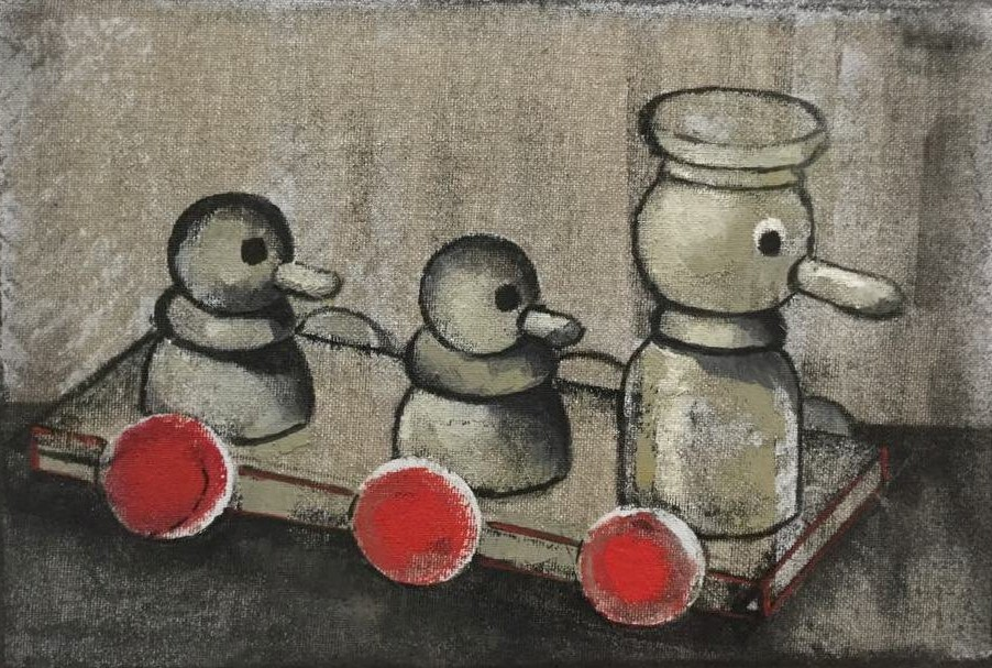 Marianna Katsoulidi, Three ducks (Journey), 2018