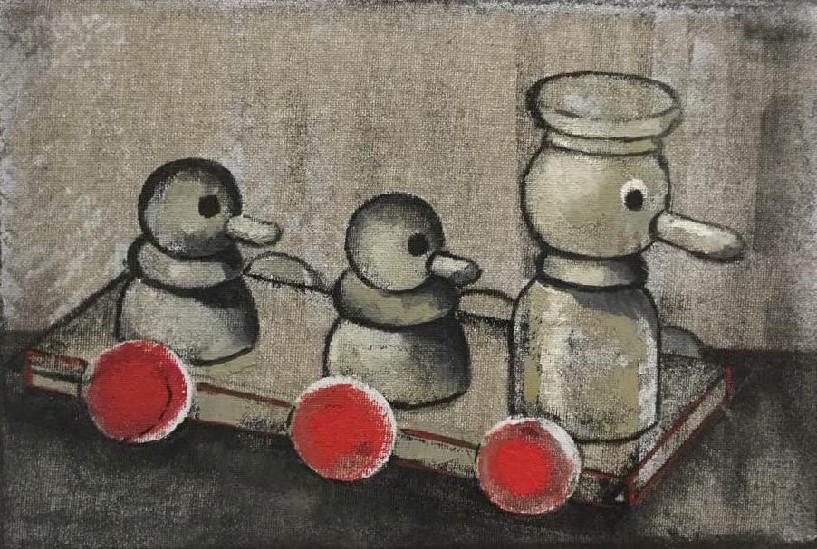 Marianna Katsoulidi, Three ducks (Journey), 2018