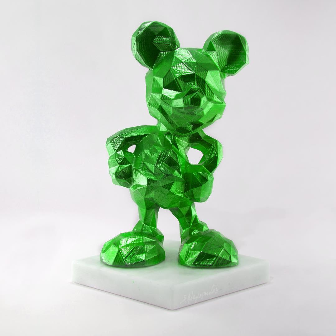 Lowpoly Mickey