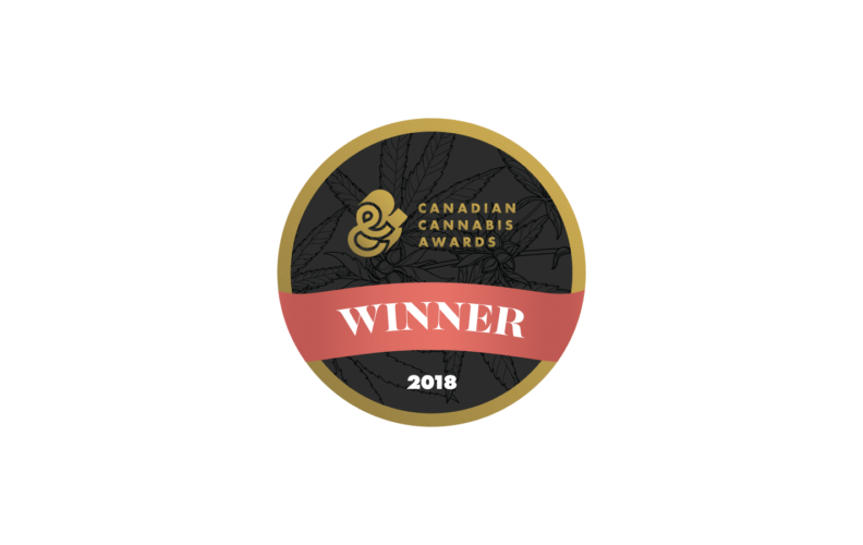 Canadian Cannabis Awards Winner