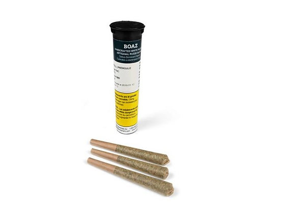 Boaz White Russian 3x 0.5g Joints
