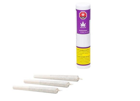 Namaste Shishkaberry 3x 0.5g Joints