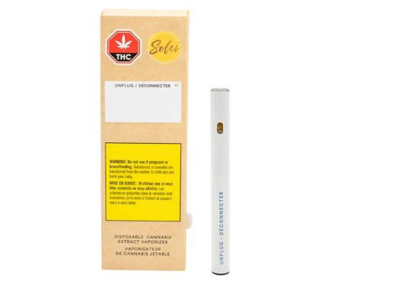 Solei Unplug 0.25g Disposable