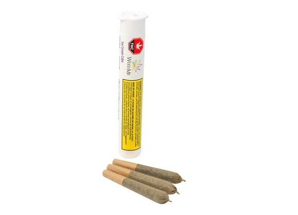 Weed Me Ice Cream Cake 3x 0.5g Joints