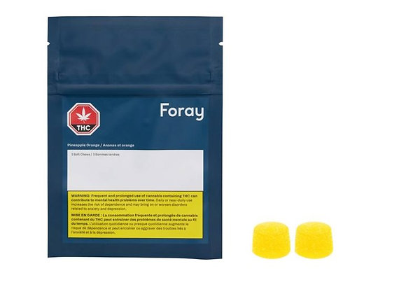 Foray Softchews Pineapple Orange 2pk