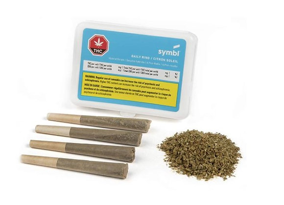 Symbl Daily Rind 4x 0.5g Joint