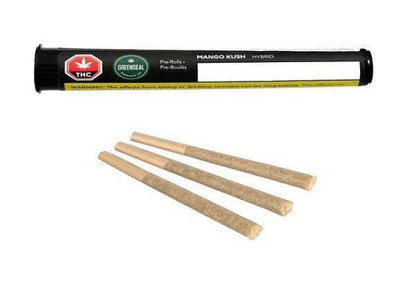 Greenseal Mango Kush 3x 0.5g Joints