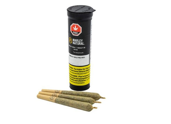 Marley Natural Gold 3x 0.5g Joints