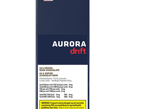 Aurora Drift Dark Chocolate Squares