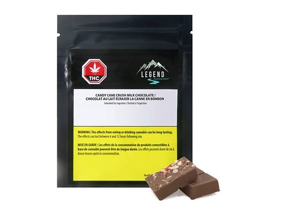 Legend THC Candy Cane Milk Chocolate