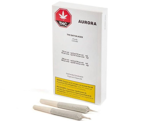 Aurora Sativa Aces 2x 0.5g Joint