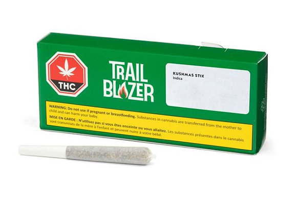 Trailblazer Kushmas Stix 0.5g Joint