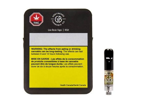 Greybeard KISH Live Resin 510 0.5g