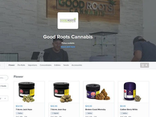 Online Ordering is now at Good Roots!