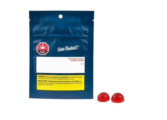 San Rafael Soft Chews Strawberry 2pk