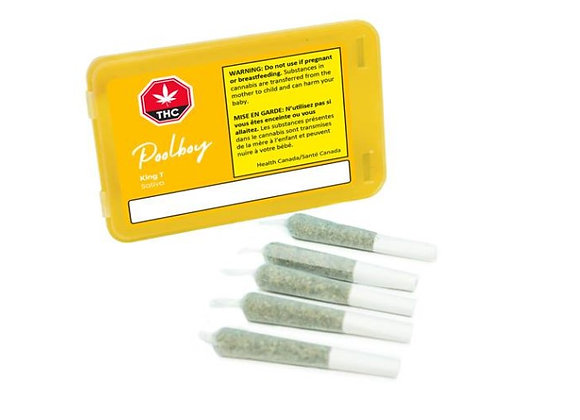 Poolboy King T 5x 0.35g Joints