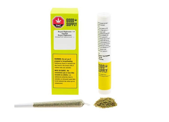 Good Supply Royal Highness 3x 0.33g Joints