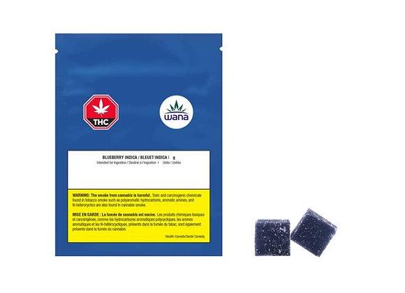 Wana Soft Chews Sour Blueberry