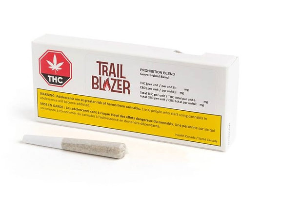 Trailblazer Prohibition Stix 0.5g Joint