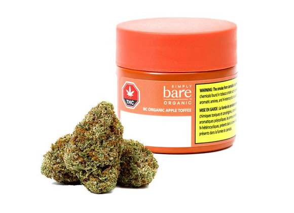 Simply Bare Apple Toffee 3.5g