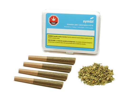 Symbl Summer Jam 4x 0.5g Joint