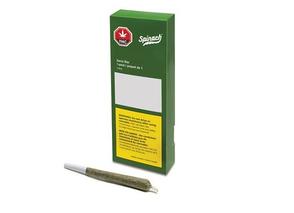 Spinach Sensi Star 1g Joint