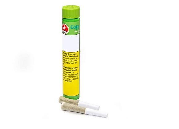 Color Cannabis Ghost Train Haze 2x 0.35g Joints
