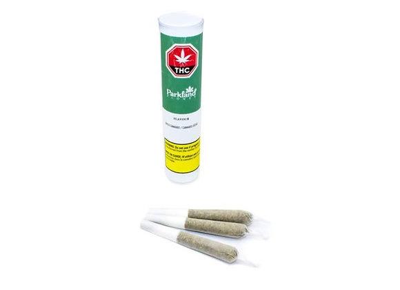 Parkland Flower Flavour 3x 0.5g Joints