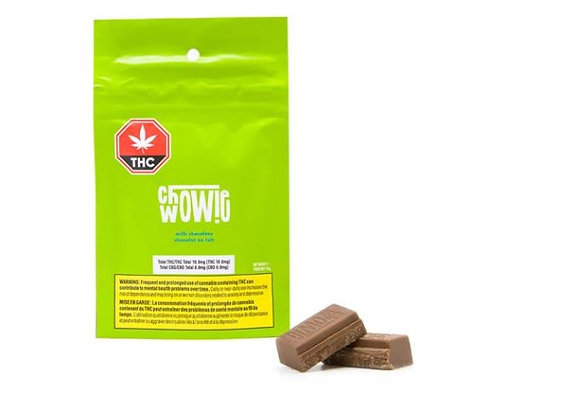Chowie Wowie THC Milk Chocolate Bar