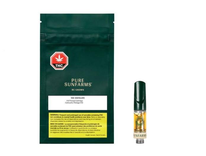Pure Sunfarms THC Distillate