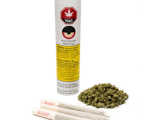 Good Buds Island Fig 3x 0.5g Joint
