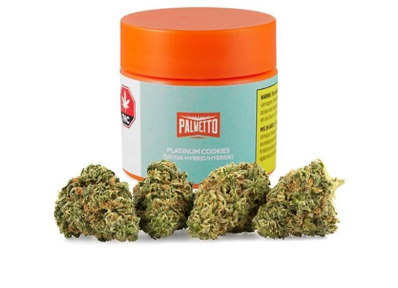 Palmetto Platinum Cookies 3.5g
