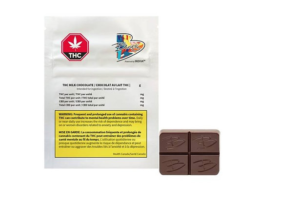 Bhang THC Milk Chocolate