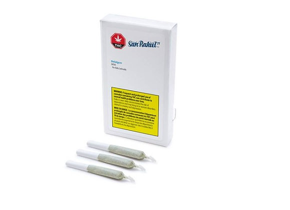San Rafael Delahaze 3x 0.5g Joints