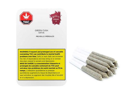 Wildlife Green Cush 10x 0.3g Joints