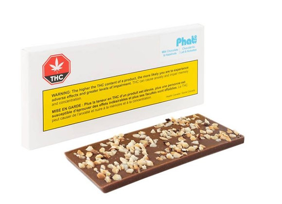 Phat420 Hazelnut Milk Chocolate