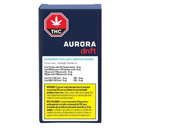 Aurora Drift Chillers Peppermint 5pk