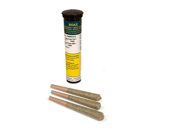 Boaz White Russian Reserve 3x 0.5g Joints