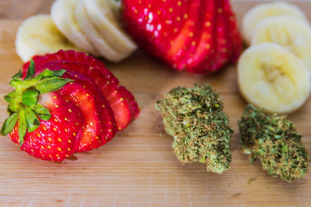 Strawberry Banana Cannabis