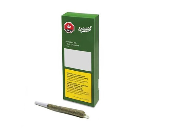 Spinach Rockstar Kush 1g Joint