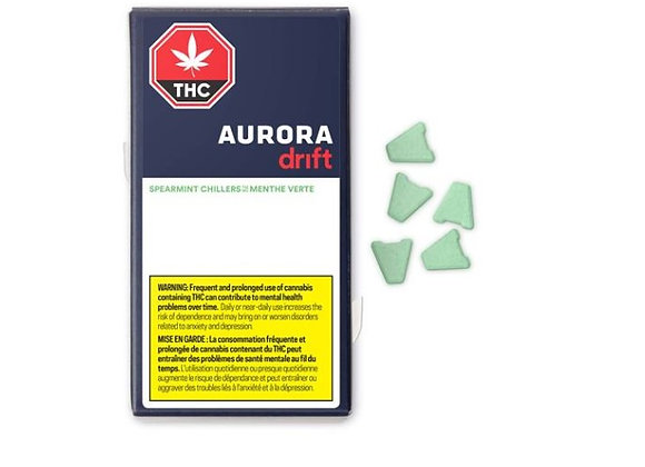 Aurora Drift Chillers Spearmint 5pk