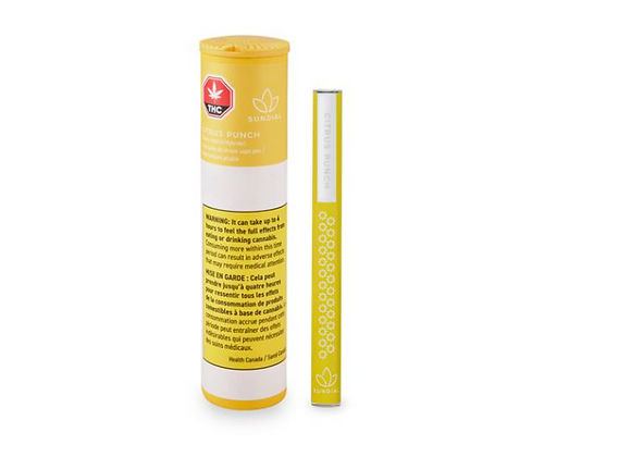 Sundial Lift Citrus Punch 0.5g Disposable