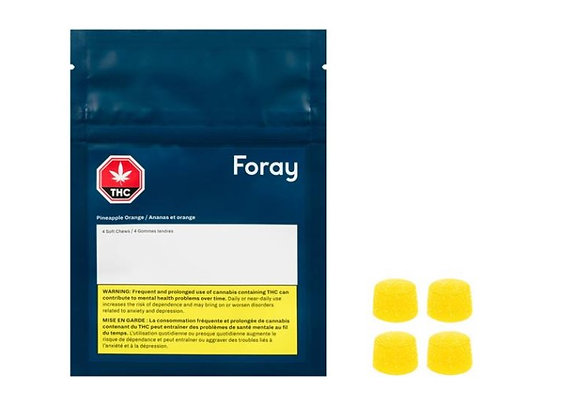 Foray Softchews Pineapple Orange 4pk